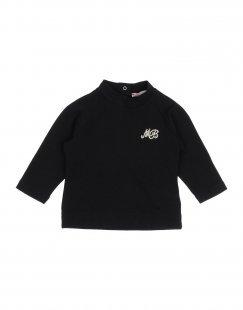 MONNALISA BEBE´ Mädchen 0-24 monate T-shirts Farbe Schwarz Größe 4