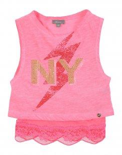 MICROBE Mädchen 0-24 monate T-shirts Farbe Fuchsia Größe 4