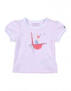 TOMMY HILFIGER Mädchen 0-24 monate T-shirts Farbe Rosa Größe 1