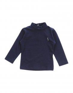 PATRIZIA PEPE Mädchen 0-24 monate T-shirts Farbe Dunkelblau Größe 4