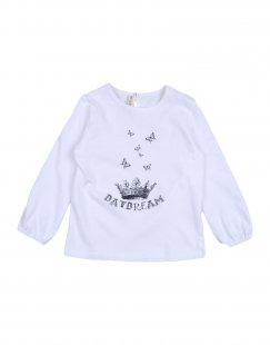 BABE & TESS Mädchen 0-24 monate T-shirts Farbe Weiß Größe 10