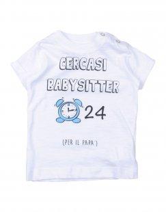 HAPPINESS Mädchen 0-24 monate T-shirts Farbe Weiß Größe 1