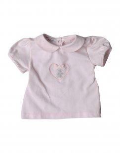 LE BEBÉ Mädchen 0-24 monate T-shirts Farbe Rosa Größe 4