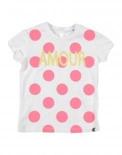 LULU´ Mädchen 0-24 monate T-shirts Farbe Elfenbein Größe 10