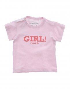 IMPS&ELFS Mädchen 0-24 monate T-shirts Farbe Hellrosa Größe 3