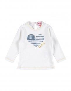 GAS Mädchen 0-24 monate T-shirts Farbe Weiß Größe 4