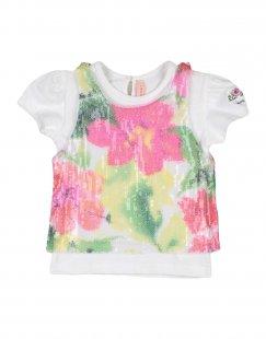 LAURA BIAGIOTTI Mädchen 0-24 monate T-shirts Farbe Weiß Größe 5