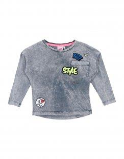VINGINO Mädchen 0-24 monate T-shirts Farbe Blei Größe 10