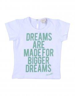 MICROBE Mädchen 0-24 monate T-shirts Farbe Weiß Größe 6