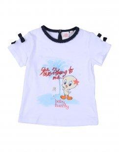 SILVIAN HEACH Mädchen 0-24 monate T-shirts Farbe Weiß Größe 4