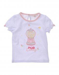 SILVIAN HEACH Mädchen 0-24 monate T-shirts Farbe Weiß Größe 6