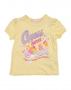 GUESS Mädchen 0-24 monate T-shirts Farbe Gelb Größe 4