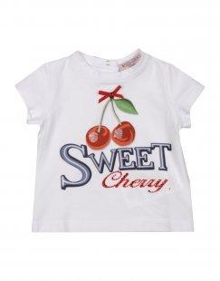 MONNALISA BEBE´ Mädchen 0-24 monate T-shirts Farbe Weiß Größe 3