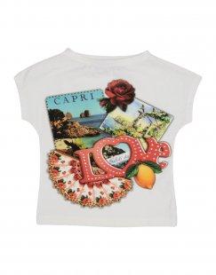 PAESAGGino Mädchen 0-24 monate T-shirts Farbe Elfenbein Größe 10