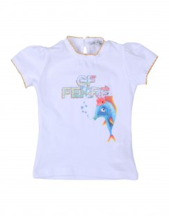 GF FERRE´ Mädchen 0-24 monate T-shirts Farbe Weiß Größe 10