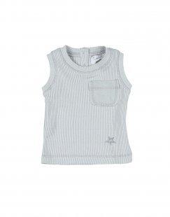 TOCOTO VINTAGE Mädchen 0-24 monate T-shirts Farbe Hellgrau Größe 1