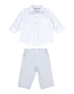 ALETTA Jungen 0-24 monate Set Farbe Weiß Größe 2