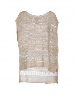 BIANCOGHIACCIO Damen Pullover Farbe Beige Größe 6