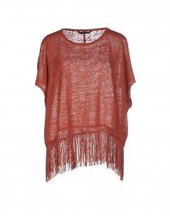 ONLY Damen Pullover Farbe Ziegelrot Größe 3