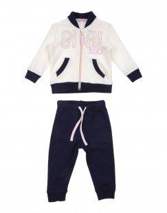 MIRTILLO Mädchen 0-24 monate Sweat-Outfit Farbe Weiß Größe 5