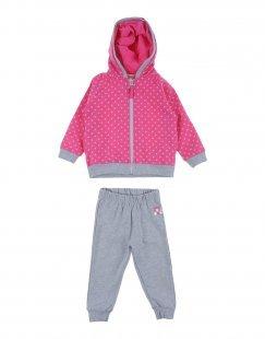 MIRTILLO Mädchen 0-24 monate Sweat-Outfit Farbe Fuchsia Größe 4