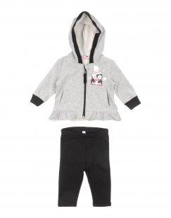 MIRTILLO Mädchen 0-24 monate Sweat-Outfit Farbe Grau Größe 5