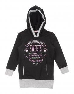 MIRTILLO Mädchen 0-24 monate Sweat-Outfit Farbe Schwarz Größe 10
