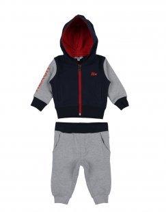 SILVIAN HEACH KIDS Jungen 0-24 monate Sweat-Outfit Farbe Dunkelblau Größe 10