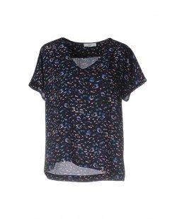 SUNCOO Damen Hemd Farbe Dunkelblau Größe 1