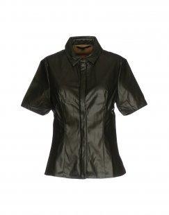 SILVIAN HEACH Damen Hemd Farbe Dunkelgrün Größe 3