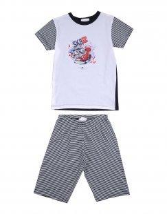 STORY LORIS Jungen 3-8 jahre Pyjama Farbe Dunkelblau Größe 2