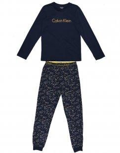CALVIN KLEIN UNDERWEAR Jungen 3-8 jahre Pyjama Farbe Dunkelblau Größe 2