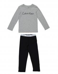 CALVIN KLEIN UNDERWEAR Jungen 3-8 jahre Pyjama Farbe Grau Größe 2