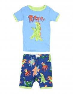 HATLEY Jungen 3-8 jahre Pyjama Farbe Azurblau Größe 6