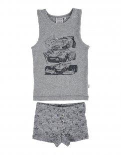 WHEAT Jungen 3-8 jahre Pyjama Farbe Grau Größe 1