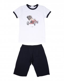STORY LORIS Jungen 3-8 jahre Pyjama Farbe Weiß Größe 2