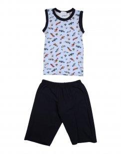 STORY LORIS Jungen 3-8 jahre Pyjama Farbe Himmelblau Größe 2