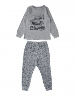 WHEAT Jungen 3-8 jahre Pyjama Farbe Grau Größe 3