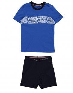 TOMMY HILFIGER Jungen 3-8 jahre Pyjama Farbe Königsblau Größe 6