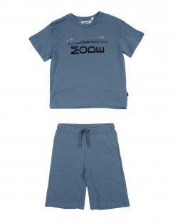 MOLO Jungen 3-8 jahre Pyjama Farbe Taubenblau Größe 5