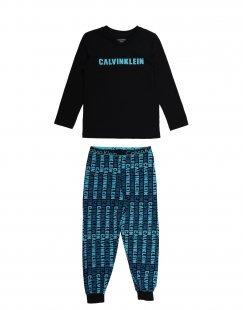 CALVIN KLEIN UNDERWEAR Jungen 3-8 jahre Pyjama Farbe Schwarz Größe 2