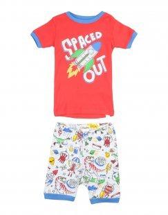 HATLEY Jungen 3-8 jahre Pyjama Farbe Rot Größe 1