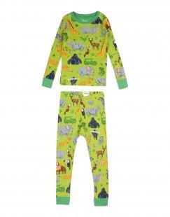 HATLEY Jungen 3-8 jahre Pyjama Farbe Grün Größe 6