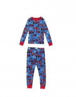 HATLEY Jungen 3-8 jahre Pyjama Farbe Blau Größe 5
