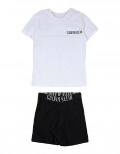 CALVIN KLEIN UNDERWEAR Jungen 3-8 jahre Pyjama Farbe Weiß Größe 2