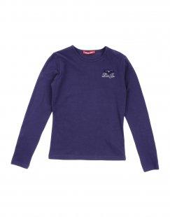 LIU •JO Mädchen 9-16 jahre T-shirts Farbe Violett Größe 2