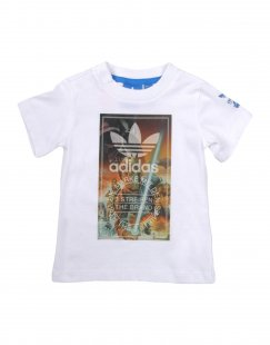 ADIDAS ORIGINALS Jungen 0-24 monate T-shirts Farbe Weiß Größe 5