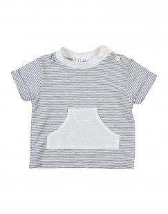 OPILILAI Jungen 0-24 monate T-shirts Farbe Grau Größe 3