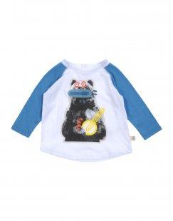 STELLA McCARTNEY KIDS Jungen 0-24 monate T-shirts Farbe Weiß Größe 3