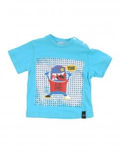 DANIELE ALESSANDRINI Jungen 0-24 monate T-shirts Farbe Tūrkis Größe 4